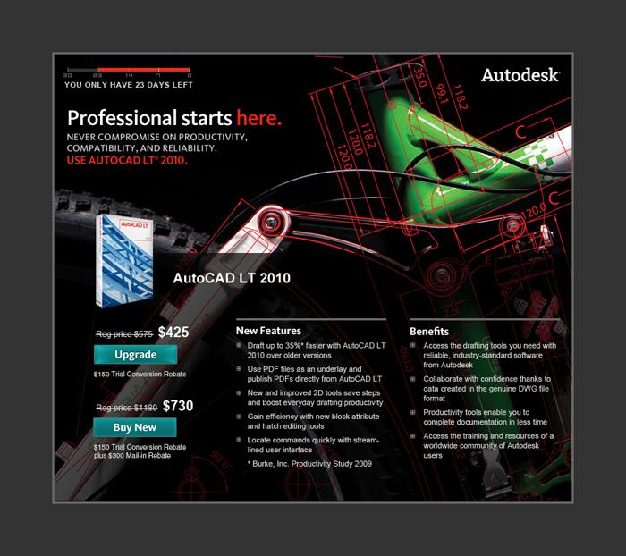 Autodesk AutoCAD LT 2010